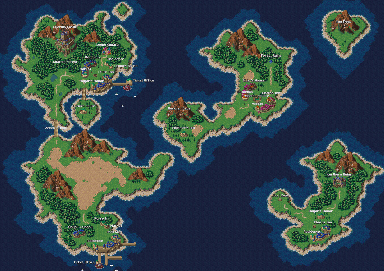 The Wonder of Game World Maps Bromoco Games